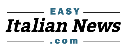 Logo of EasyItalianNews.com - free news stories with audio for learners of Italian